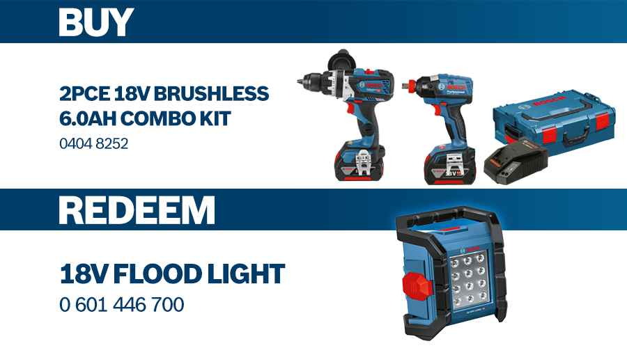 Bosch Power Tools Redemptions