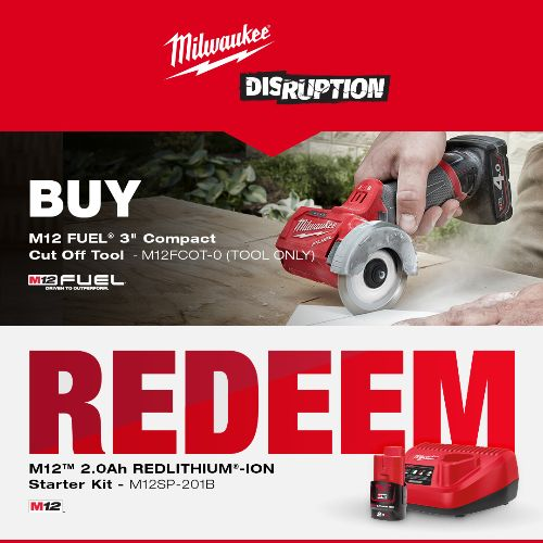 Milwaukee Power Tools Redemptions