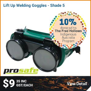 Prosafe GOGGLES WELDING LIFT UP SHADE 5