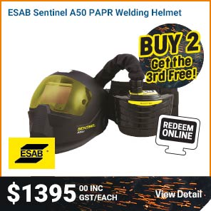 HELMET PAPR ESAB SENTINEL A50 COMPLETE